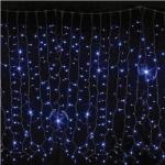 Гирлянда Curtain DELUX 2x1.5м (Штора) 456LED синяя
