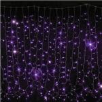 Гирлянда Curtain DELUX 2x1.5м (Штора) 456LED фиолетовая