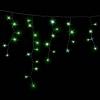 Гирлянда ICICLE DELUX 2x0,7м (Сталактит) 75 LED FLASH зеленый