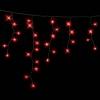 Гирлянда ICICLE DELUX 2x0,7м (Сталактит) 75 LED FLASH красный