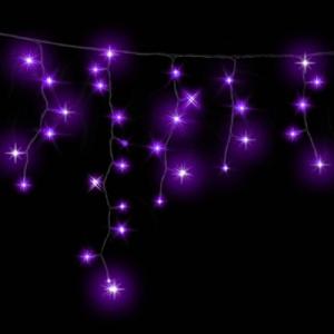 Гирлянда ICICLE DELUX 2x0,5м (Сталактит) 90 LED фиолет