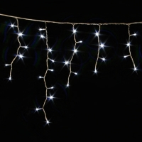 Гирлянда ICICLE DELUX 2x1м (Сталактит) 108 LED белый