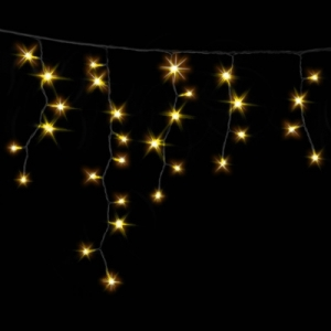 Гирлянда ICICLE DELUX 2x0,7м (Сталактит) 75 LED FLASH желтый