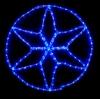 Гирлянда MOTIF Star DELUX 60см  (Мотив Звезда) LED синий
