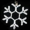 Гирлянда MOTIF Snowflake DELUX 60см  (Мотив Снежинка) LED белый