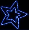 Гирлянда MOTIF Star DELUX 58см  (Мотив Звезда) LED синий