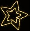 Гирлянда MOTIF Star DELUX 58см  (Мотив Звезда) LED желтый