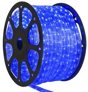 Дюралайт DELUX LRLх2 LED 2-полюсный синий