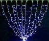 Гирлянда STALACTITES DELUX 1х3м (Высокий сталактит) 300 LED синий