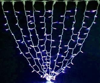 Гирлянда STALACTITES DELUX 0,8х1,5м (Высокий сталактит) 120 LED синий