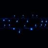 Гирлянда String DELUX 10м (Нить) FLASH 100LED синий