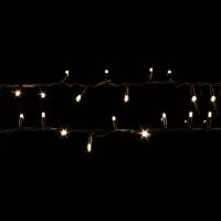 Гирлянда String DELUX 10м (Нить) FLASH 100LED белый