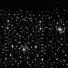 Гирлянда Curtain Snowfall DELUX 2х1,5м (Штора водопад) 240 LED белый