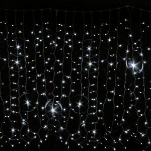 Гирлянда Curtain Digital DELUX 2х2м (Цифровая штора) 240 LED белый