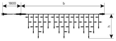 Схема гирлянды ICICLE